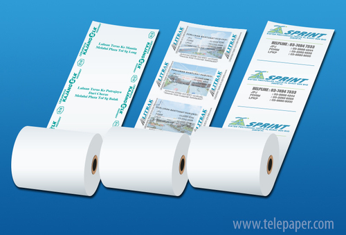 Toll Plaza Receipt Roll