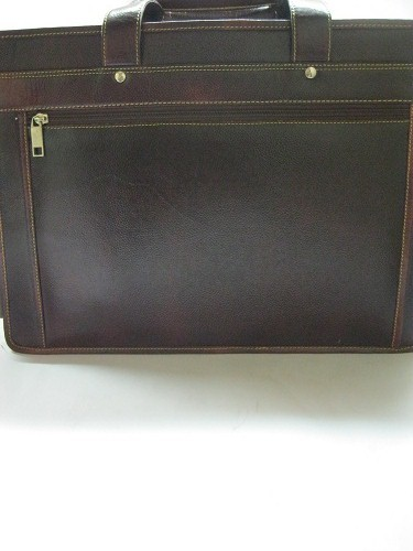 Brown And Hard Laptop Bag