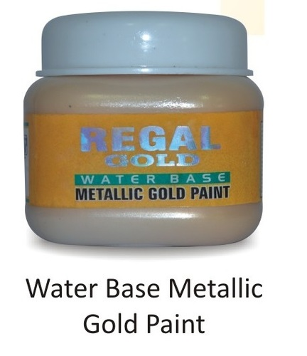 WATER BASE METALLIC GOLD PAINT