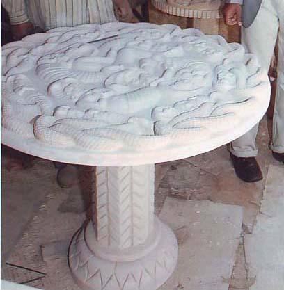 Garden Stone Tables