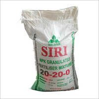 NPK 20-20-0 Granulated Mixture