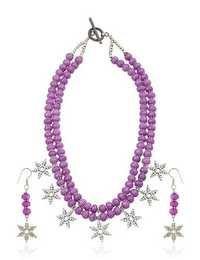 Lavender Snowflakes