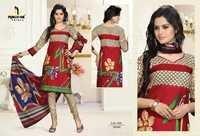 V-Neck Cotton Salwar Kameez