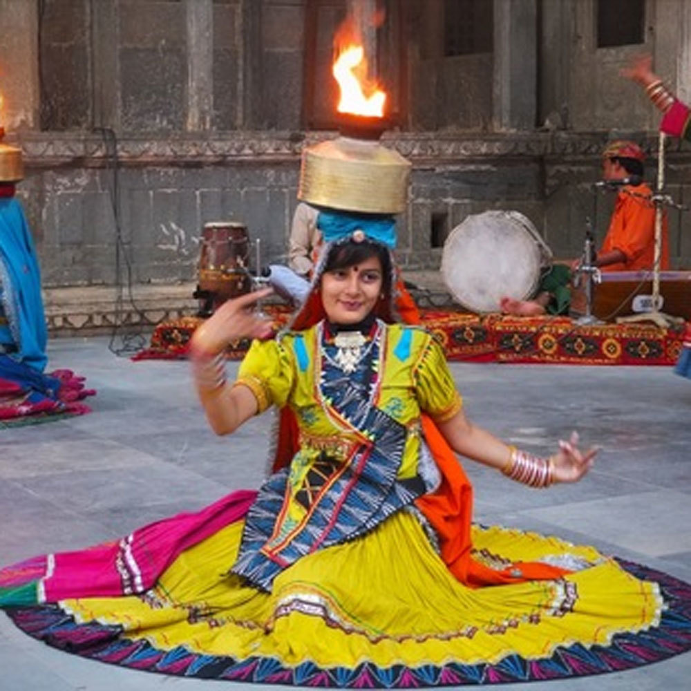 Ghoomar Dance Costume