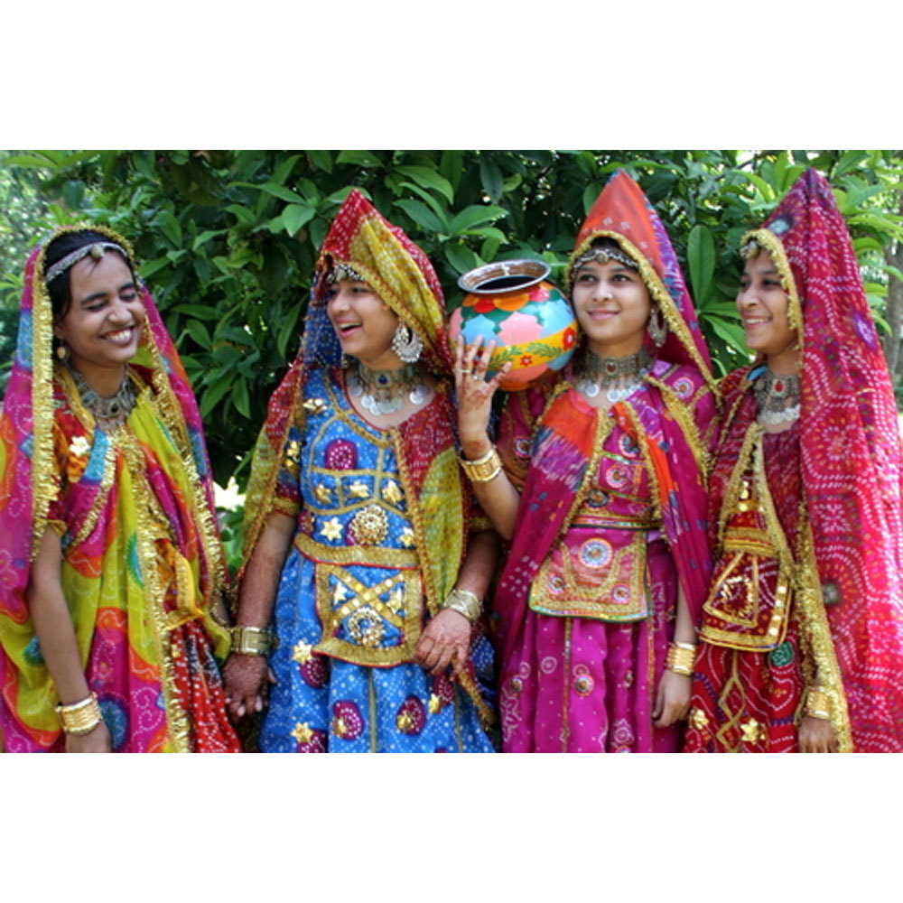 Rajasthani Ghoomar Costume