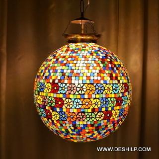Ball Mosaic Lamp Shade