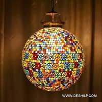 Ball Mosaic Lamp Shade