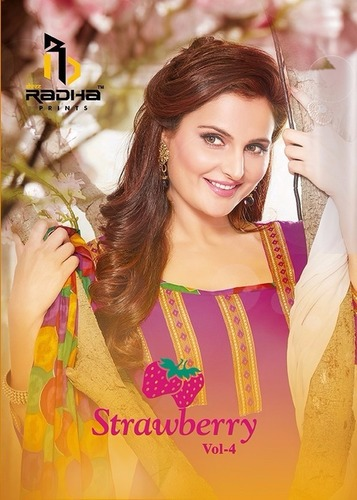 Strawberry Cotton Suits Catalog