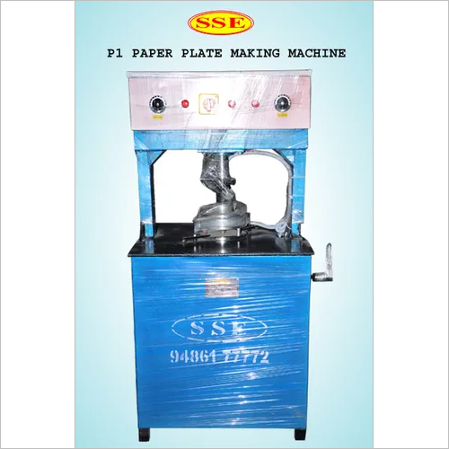 Paper Plate Making Machine Hydraulic Single Dye