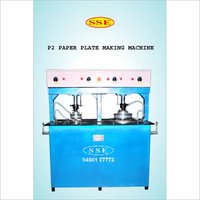 Double Head Paper Plate Machine