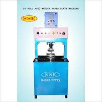 Fully Automatic Hydraulic Paper Plate Making Machine  Singel Dye