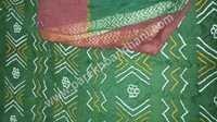 Cotton Silk Tie Dye Bandhej Dress