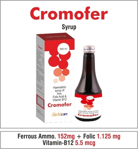 Ferric Ammo.Citrate 160 mg. + Cyanocobalamine 5.5 mcg. Folic Acid 1.125 mg.