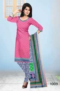 Colored Cotton Dress Material
