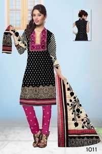 Ladies Cotton Suit Design