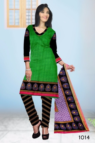 Designer Cotton Printed Suits