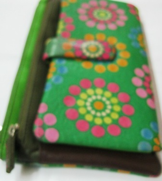 Ladies Hand Painted Bifold Wallets