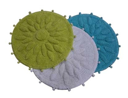 Round Design Bath Mat