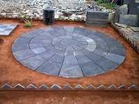 Kaddapa black lime stone