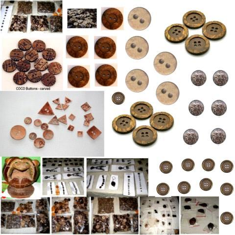 WOOD SHIRT BUTTONS