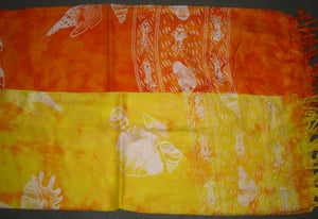 Printed Cotton Voil Scarves