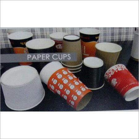 Multicolored Paper Cups