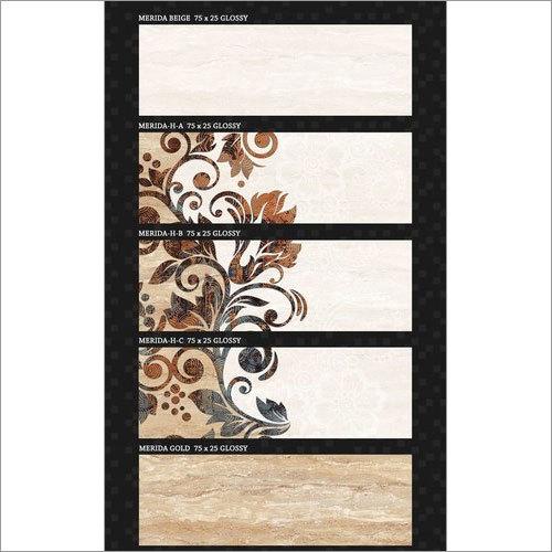 Ceramic Tiles 250x750 mm
