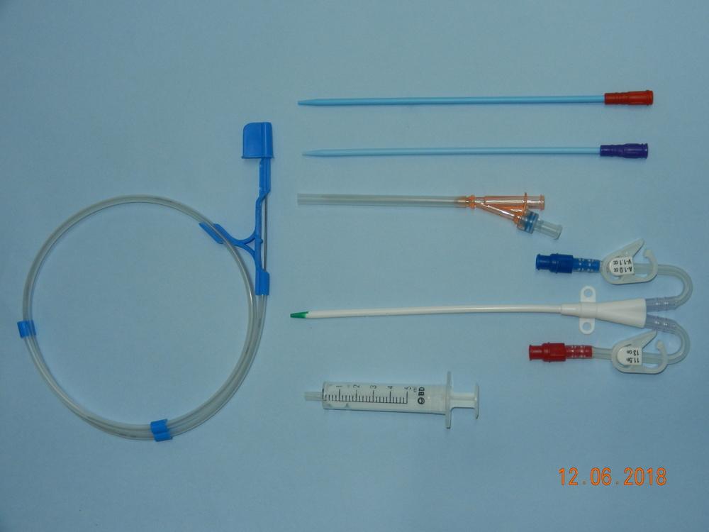 Double Lumen Haemodialysis Catheter