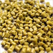 Golden yellow roto molding granules