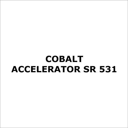 COBALT ACCELERATOR SR 531