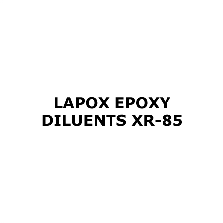 LAPOX EPOXY DILUENTS XR-85