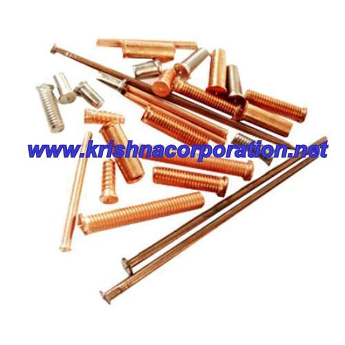 Copper Plated Weld Stud