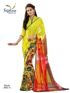 Traditional printed Saree