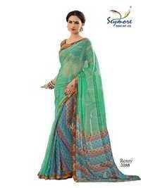 Festive Wear Designer Brasso saree