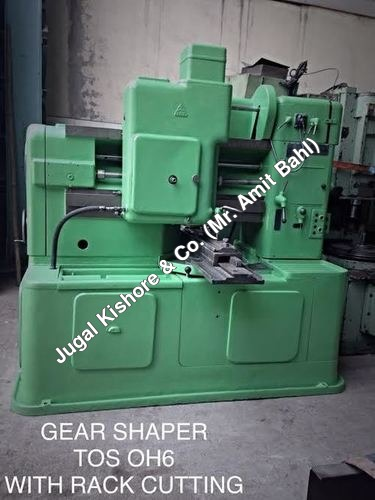 GEAR SHAPER TOS OH6 WITH RACK CUTTING