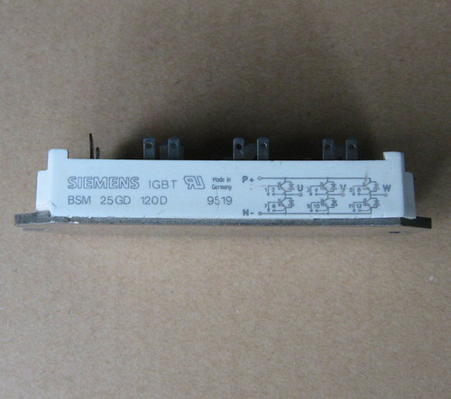 Siemens Thyristor Module BSM25GD120D