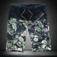 MENS COTTON PRINT SHORTS