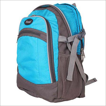 Sky Blue Colored School Bags
