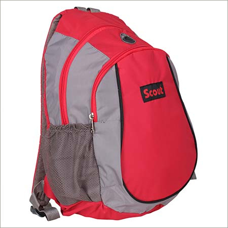 Red Colored School Bags