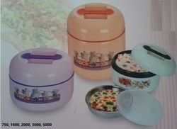 Plastic Insulated Twin Hot Pot