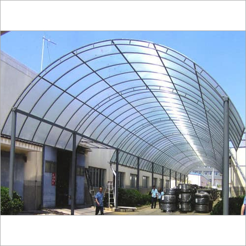 Multiwall Polycarbonate Sheds