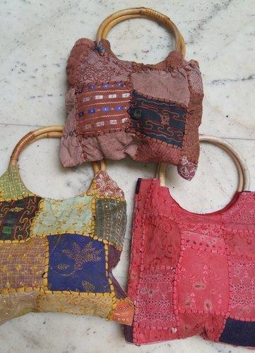 Wooden Handle Bags