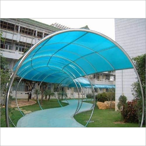 Walkway Polycarbonate Canopies Structure