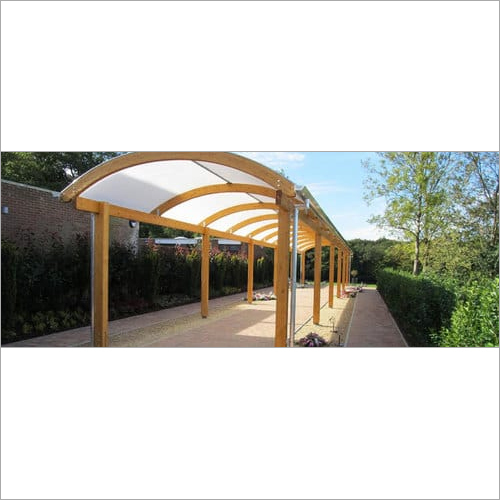 Polycarbonate Walkway Structure