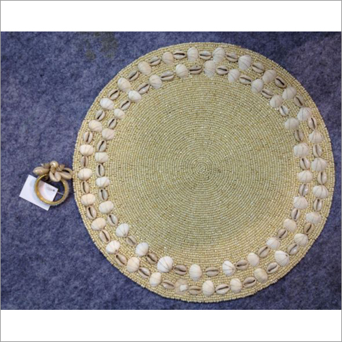 Decorative Shell Coasters