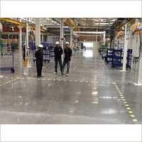 Polished Concrete Warehouse Flooring