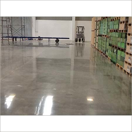 Industrial Polished Concrete Flooring