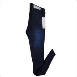Ladies Plain Denim Jeans
