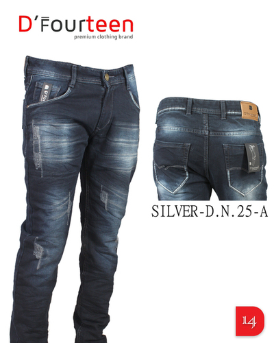 MEN WHITE SLIM FIT JEANS