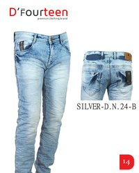 BLUE COLOR DENIM MENS JEANS